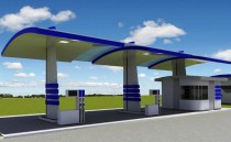future fuel station